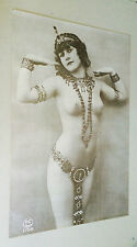 Chastity Paris Original Vintage Head Shop Poster Woman 1970's pin-up Synergisms