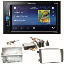 Pioneer MVH-A200VBT USB Einbauset für Mercedes C-Klasse W203 CLK W208 W209
