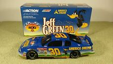 2001 Action JEFF GREEN #30 AOL Looney Toons Daffy Duck Diecast Nascar 1/24 BWB