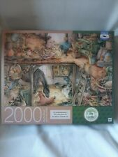 Premium Quality Blue Board 2000 Piece Puzzle Art By Kim Jacobs
