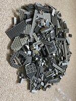 Lego 1 Kg Brick / Piece Bundle Mainly Star Wars Greys Genuine