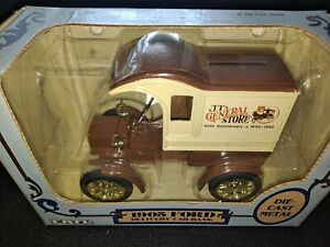 Ertl JT's General Store - 1905 Ford Delivery Car Bank 1/25 Scale Die-cast Metal