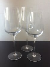 Chef & Sommelier 3 X Assorted Wine / Water Crystal Glasses