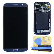 Blue LCD Display Touch Screen + Frame for Samsung Galaxy Mega 6.3 i9200 i9205 +T