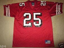 Charlie Garner #25 San Francisco 49ers adidas NFL Jersey LG L