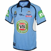New South Wales Blues State Of Origin Classic Collar Jersey Size S-M!T7