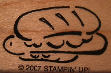 Retired Stampin Up Voila to Go Rubber Stamp - Submarine Sandwich