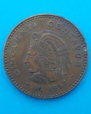 México 50 centavos de 1957
