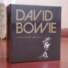 """NEW SEALED! David Bowie """"Five Years 1969-1973"""" 12 CD Box Set Col"""