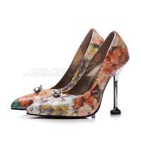 Stiletto Spitz Damenschuhe Pumps Slipper High Heels Sexy Party Elegant Gr.34-48