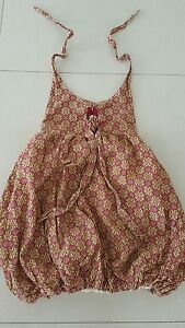 DAISY BATIK KID'S GIRLS BALOON DRESS by DISNEY. Size 6, BNWT $39.00 RARE.