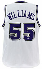 e57e742a31c Kings Jason Williams Authentic Signed White Jersey Autographed BAS Witnessed