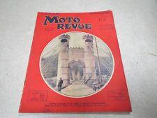 MOTO REVUE N° 622 9 FEVRIER 1935 LE PONT SUSPENDU DE LA CAILLE ALLOUZIER SAVOIE*