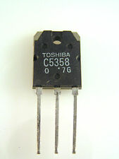 Toshiba Transistor 2SC5358 TO3PN NPN Triple Diffused Type Power Amp Use OM0148C