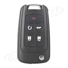 Flip Key Fob Shell Remote Case Fob 5 Button for Chevrolet Camaro Cruze Equinox