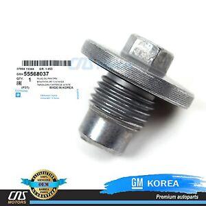 ⭐⭐GENUINE⭐⭐ Oil Drain Plug 11-16 Chevy Encore ELR Cruze Sonic Trax Volt 55568037