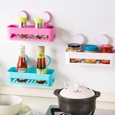Bathroom Storage Wall Basket Corner Shelf With Suction Shower Rack Organizer Cup