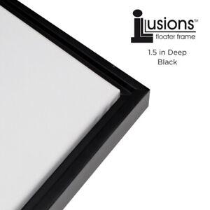 Illusions Frames - 1.5 Inch  Depth - [Black] Parent