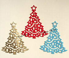NEW ✿ Decorative Christmas Tree Star Die ✿ For Cuttlebug Sizzix ✿