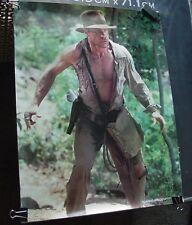 Vintage 4 Indiana Jones Movie Posters Temple of Doom 1984 old stock P & G promo