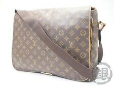 AUTH PRE-OWNED LOUIS VUITTON MONOGRAM ABBESSES LARGE MESSENGER BAG M45257 153542