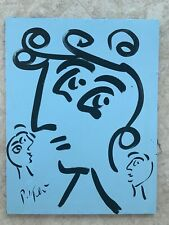 peter robert keil Picasso Style Abstract Trio Canvas 36@27