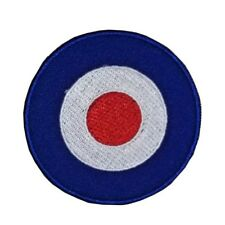 Royal Air Force Embroidered Iron Sew On Patch RAF MOD Target BULLSEYE Badge 8.5