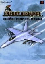 Energy Airforce Aim Strike! Official Complete Manual Book / PS2