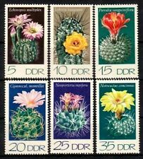 CACTUS CACTI, MNH 1974 DDR East Germany GDR complete set, LOOK!!!!!!!!!!!!