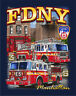 FDNY ENGINE 5 LADDER 3 R-CON OFFICIALLY LICENSCED NYC  FIRE DEPT  T-SHIRT
