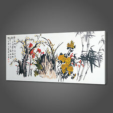 CHINESE ART ORIENTAL PANORAMIC CANVAS PRINT PICTURE WALL ART VARIETY OF SIZES