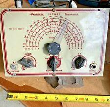 Vintage HeathKit Signal Generator Model G-1 used