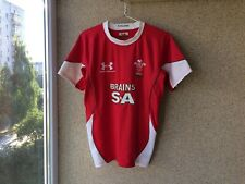 Wales Home Rugby Union Shirt 2008/2010 Jersey L Under Armour Camiseta