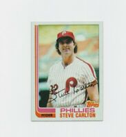 1982 Topps Steve Carlton Baseball Card #480 #Philadelphia Phillies  HOF