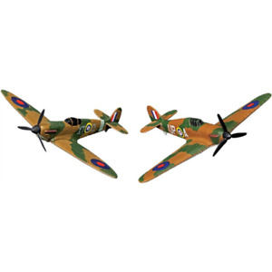 CORGI Showcase Battle of Britain Collection Spitfire and Hurricane FTB Scale