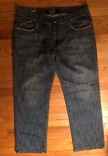 "Rock & Republic Medium Wash ""Kiedis"" Flap Pocket Straight Leg Jeans Size 36"