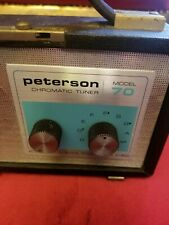 Peterson Model 70 Rare Chromatic Tuner Vintage Electro Musical