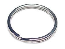 """Wholesale Lot 500 Heavy Duty Key Rings 29mm 1-3/16"""" D. Split Ring"""