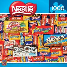 MASTERPIECES CANDY BRANDS JIGSAW PUZZLE NESTLE CHOCOLATES 1000 PCS CANDY BARS