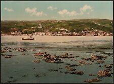 2 Victorian Views Aberdovey Aberdyfi Gwynedd from River Dyfi Old Photos Pictures