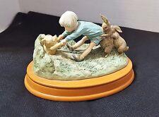 "Classic Winnie the Pooh Charpente Nursery Disney Figurine ""Stuck in Hole"""
