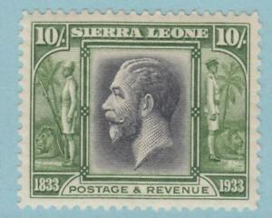 SIERRA LEONE 164 SG 179 MINT HINGED OG * NO FAULTS EXTRA FINE ! £300