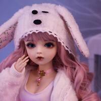 60cm BJD Doll Girls 1/3 Handbemalte BJD Puppe Mit Kugelgelenk Outfit Kleidung