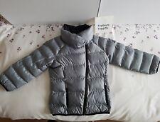 Hardly Worn adidas Girls 4-5 Years Faux Down Jacket Coat Warm & Stylish B48912