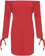Vestiti da donna rosso corto, mini taglia 42