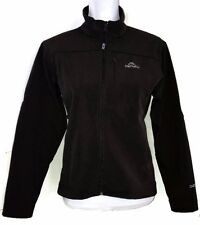 Denali Fitted Jacket Brown Women Medium M MED Fleece Lined Mesh Pockets Coat