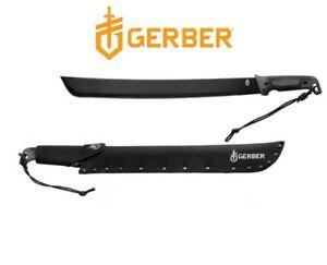 Authorized Gerber Full Tang Camping Survival Gator Bush Machete Knife 31-002848