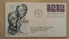 FD-7 US FRANCIS PARKMAN PROMINENT AMERICAN FIRST DAY COVER SEPT 16 1967