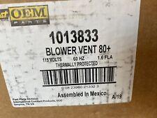 Fast Hvac Parts Oem Blower Vent 80+ Furnace Draft Inducer 1013833