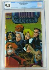 2099 A.D. Genesis #1 CGC 9.8 Marvel Comics Chromium Wraparound Cover 2015033015